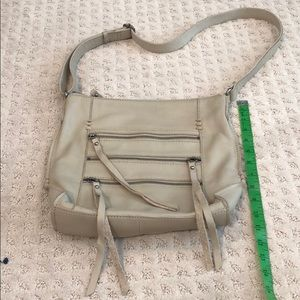 Lucky brand leather cross body